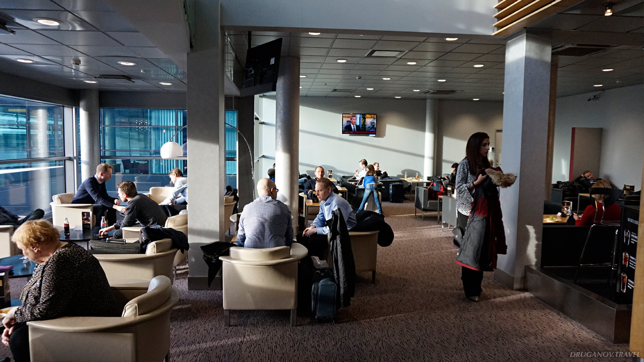 Бизнес зал: Primeclass Riga Business Lounge