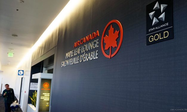 Бизнес-зал в Лос-Анджелесе: Air Canada Maple Leaf